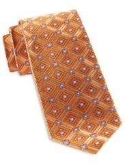 Rtrepeatingdiamondmedallionsilktie